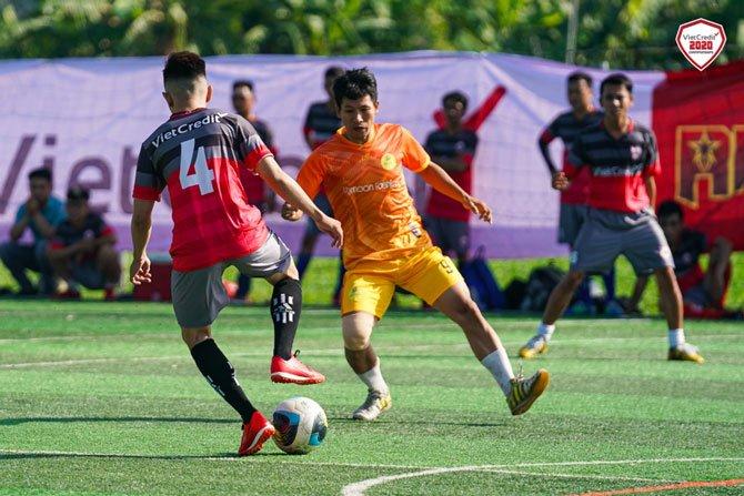 khai mạc giải bóng đá VietCredit 2020 Championships